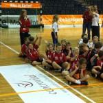 SV Lok Rangsdorf Maxis beim Nachfuchsturnier 2012 - Bei der Begrüßung