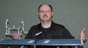 Sieger im Mini-Tischtennis: Thomas Fuchs